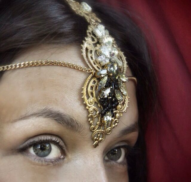 "Indian style headdress from my collection ""T&Sugar"""