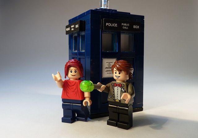 LEGO Dr Who by Legoagogo, 2010.
