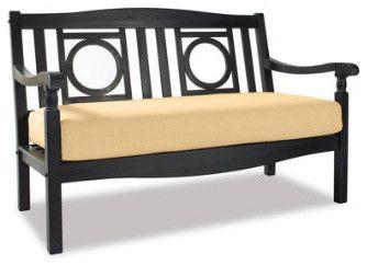 $279 Yorkshire Outdoor Loveseat - traditional - outdoor sofas - Grandin Road