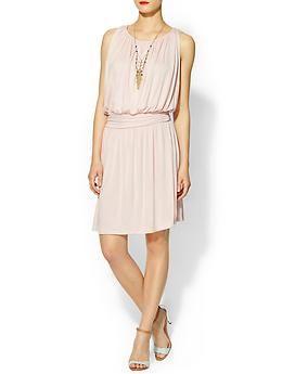 Ruched Mini Knit Dress
