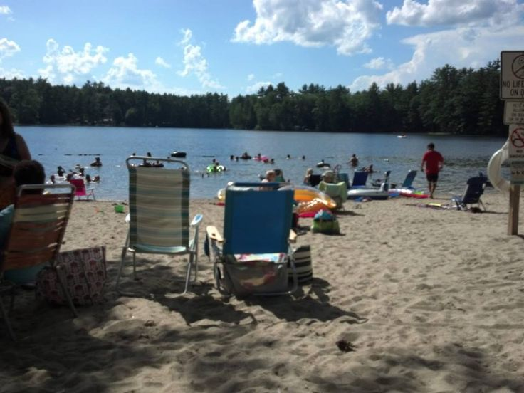 4th of july at sandy beach RV resort in contoocook NH