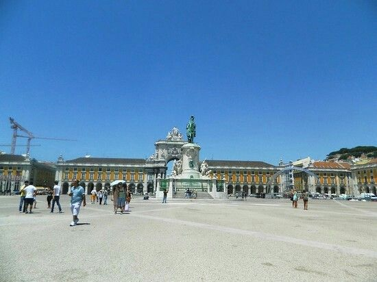 Piazza del commercio,Lisbona