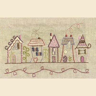 street design: cute inspiration for doodle embroidery