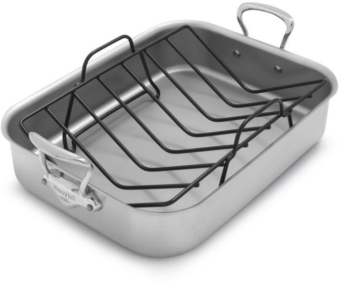 Mauviel M'collection de Cuisine Roasting Pan and Rack