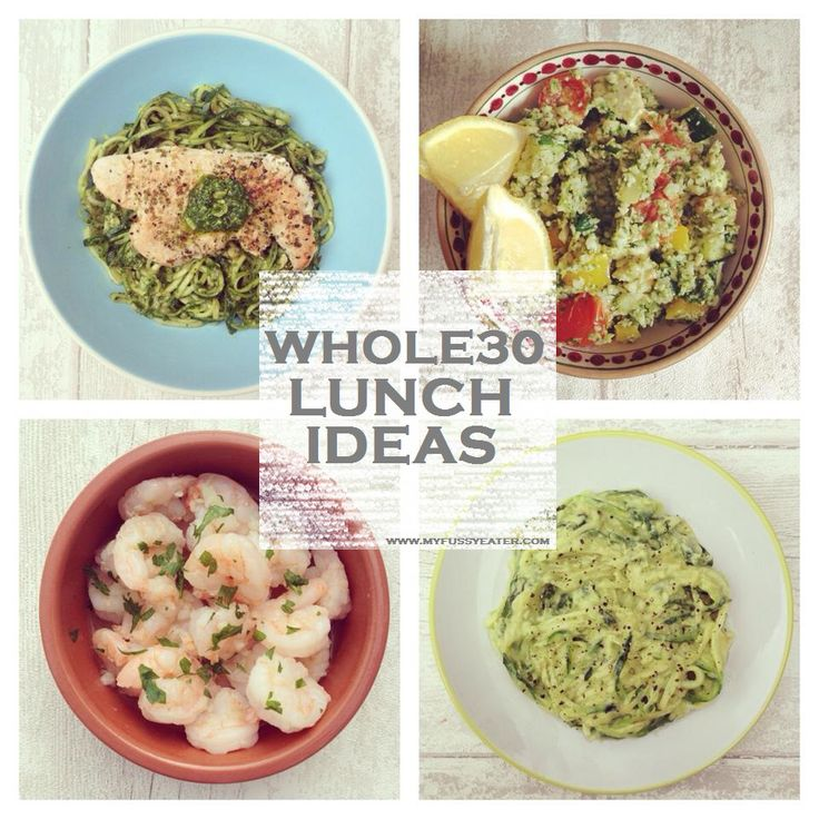 Whole 30 lunch recipes week 2