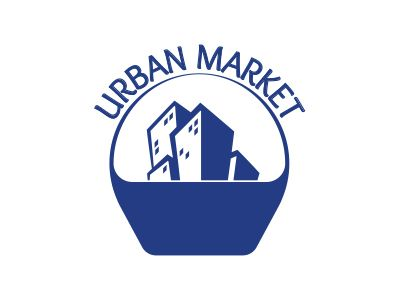 Urban Market logo by Angelo Knf (Konofaos)
