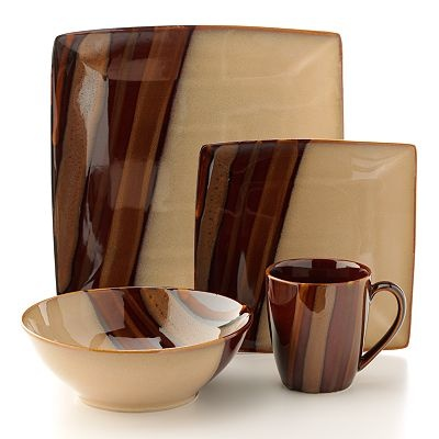 Dinnerware at Kohlu0027s - Shop our selection of Sango dishes including this Sango Avanti Brown dinnerware set at Kohlu0027s.  sc 1 st  Pinterest & 43 best dishes/pans ect. images on Pinterest | Dishes Dinnerware ...