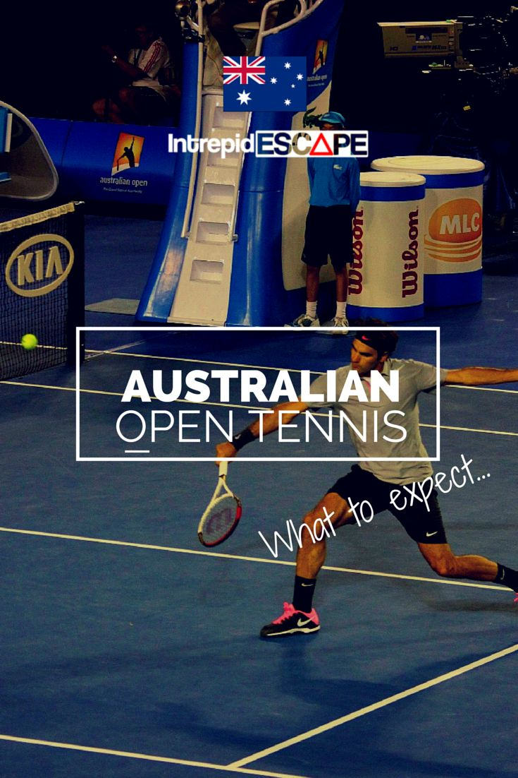 Plan on attending the Australian Open? Here's what to expect at the tournament.