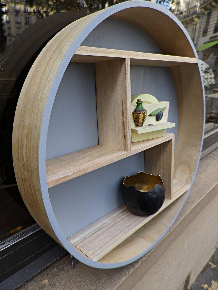 etag re d structur e suspendre ronde meubles pinterest suspendu petite etagere et deco. Black Bedroom Furniture Sets. Home Design Ideas