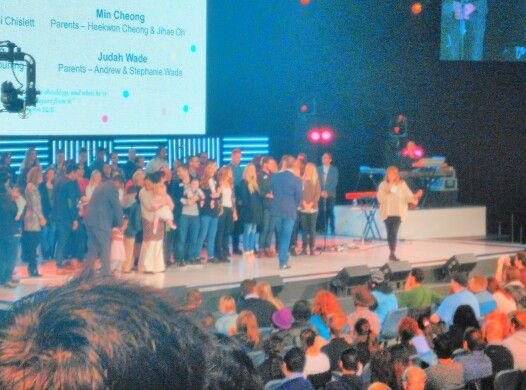 Hillsong church - the hills campus with brian and bobbie!