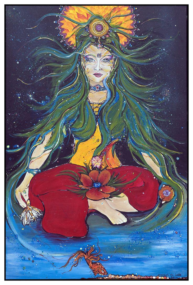 De vrouw in balans.: