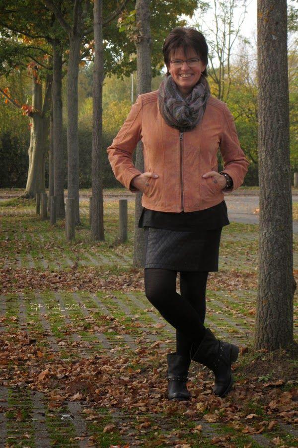 Wunderbare Wildlederjacke von Tom Tailor #Herbstoutfit