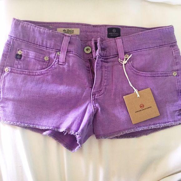Adriano Goldschmied purple shorts Purple Adriano Goldschmied shorts Adriano Goldschmied Jeans