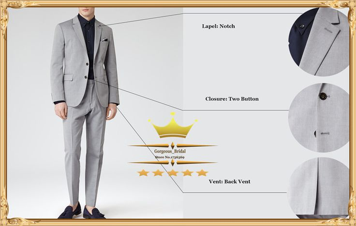 Find More Suits Information about Cheap Wedding Suit For Men Custom Made Notch Lapel Two Button Mens Suits With Pants Tuxedos Designs   (Jacket+Pants+Tie)WY0111,High Quality suit,China suit design for women Suppliers, Cheap suit jacket size chart from Gorgeous_Bridal on Aliexpress.com