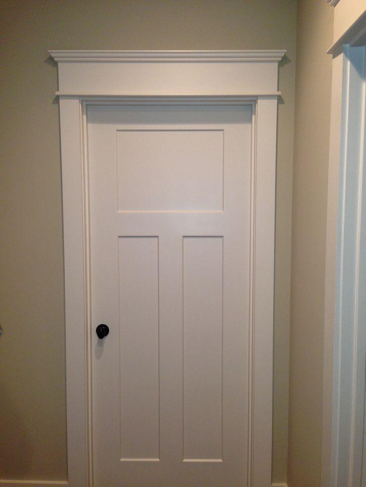 25 best ideas about interior door trim on pinterest interior door door molding and white - Finished white interior doors ...