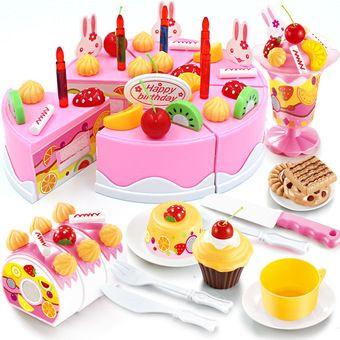 ซื้อ smartbabyandkid ชุดหั่นขนมเค็กและตกแต่งเค็ก75 ชิ้น(DIY fruit cake) ผ่านระบบออนไลน์ที่ Lazada เรามีส่วนลดและโปรโมชั่นอีกมากมายใน