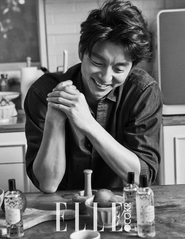 Gong Yoo - Elle Magazine October Issue '15 - Korean Magazine Lovers