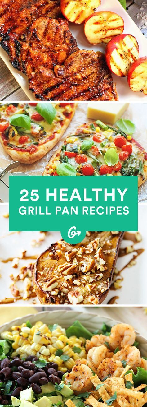 Cold winters are no longer an excuse to not enjoy delicious recipes like these. #healthy #grillpan #recipes http://greatist.com/eat/grill-pan-recipes