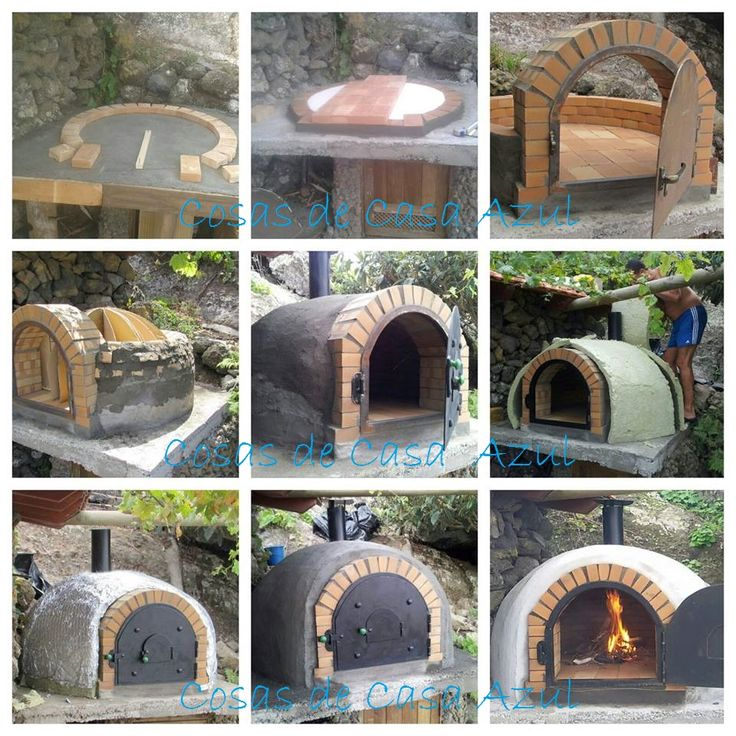 498 best pizza oven designs images on pinterest wood - Como hacer una barbacoa de obra paso a paso ...
