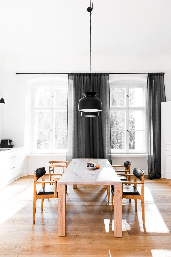 Berlin kitchen/dining room remodel by Jacek Kolaskinski of Polish design firm Loft