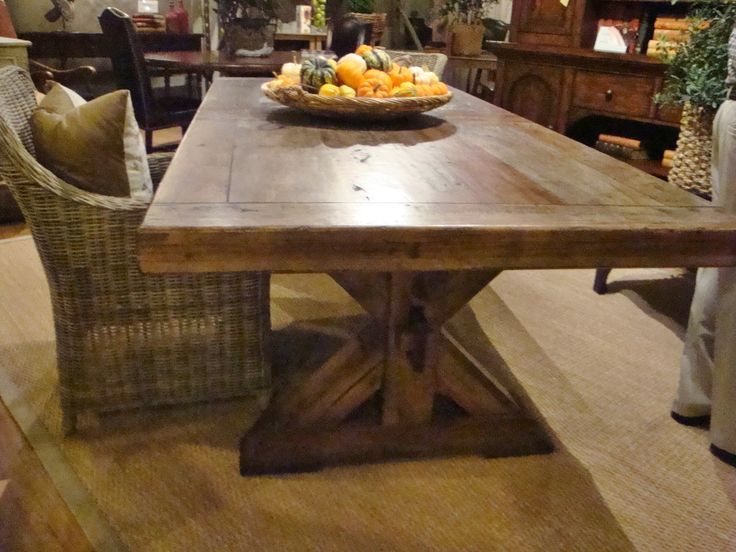 Nice Pecan Wood Dining Table | Storeroom On Main | Pinterest | Pecan Wood, Woods  And Tables Part 2