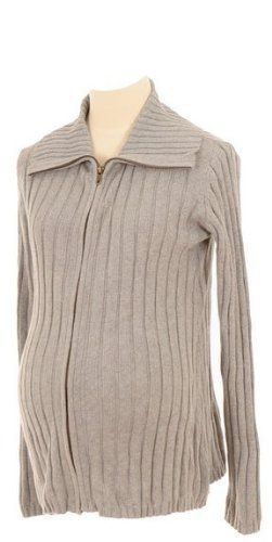 Lilo Maternity Ribbed Zip Sweater Heather Gray XS by Lilo Maternity. $45.00. Top Quality Children's Item.. Made with the Best Quality Material with your child in mind.. Lilo Maternity knows how expectant women feel because our company was started and continues to be run by women who have gone through the pregnancy experience. As your body goes through changes, it becomes more difficult to find comfortable clothing without compromising your sense of style. It is fo...