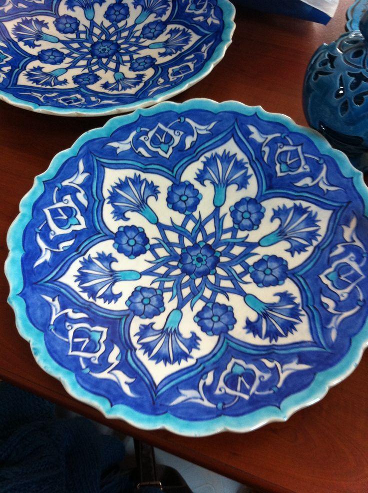 Mavi RÜya (çini tabak)