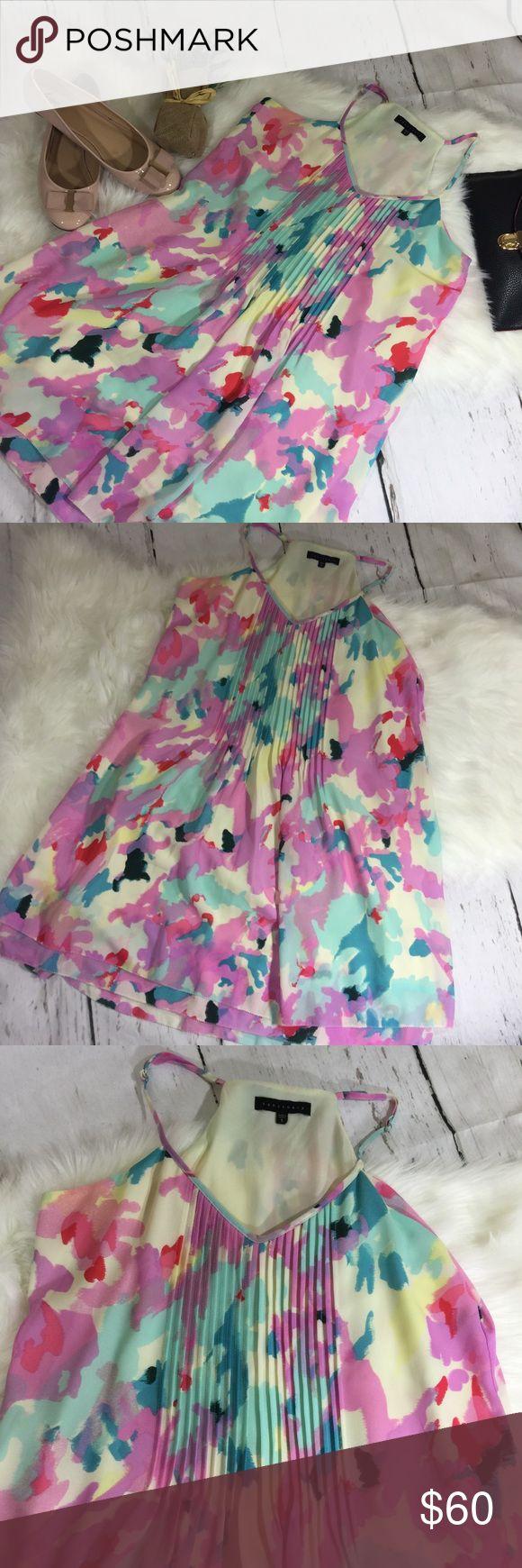 Sanctuary Multi-color Mini Dress Excellent condition. No rips or stains Length-36inchs Sanctuary Dresses Mini