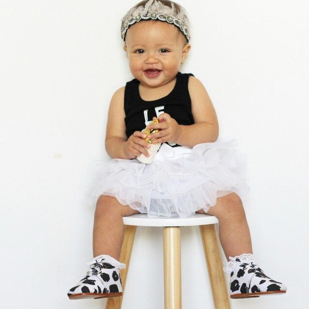 Headband: Archnollie  Romper: Little Urban Apparel  Tutu: Kmart Shoes: EveJnr