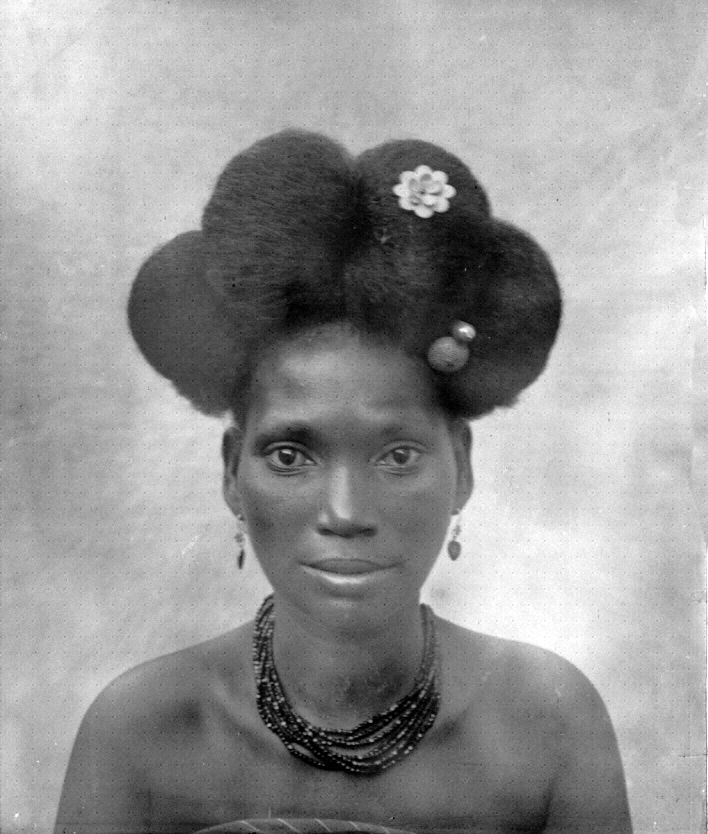 "West Africa | ""Type Hairdressing"" 