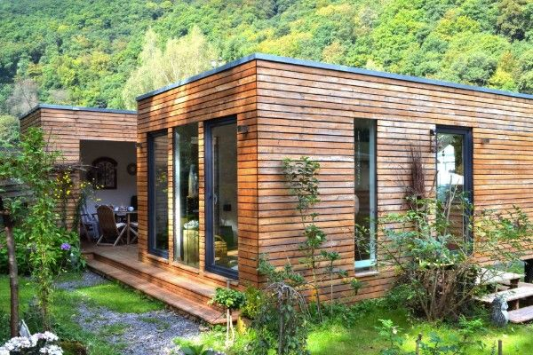 162 best haus ideen images on pinterest container h user for Fertighaus minihaus