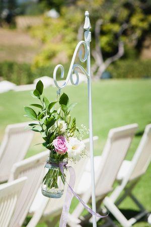 Wedding Ideas | mywedding.com | Wedding Aisle Markers | Wedding Aisle Decorations