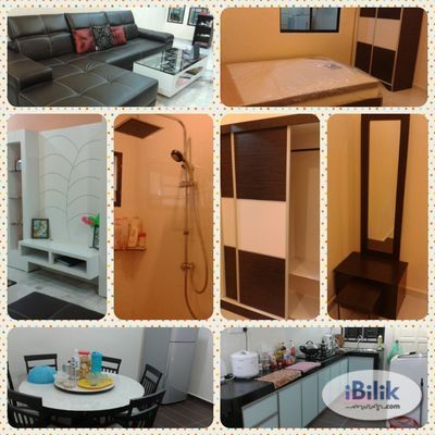 Fully Furnished Middle Room with All New Furniture in Taman Selesa Jaya