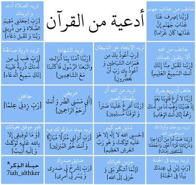 Duas from the Quran