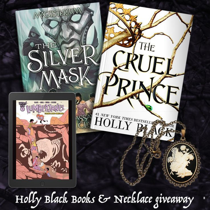 Holly Black Books & Necklace Giveaway