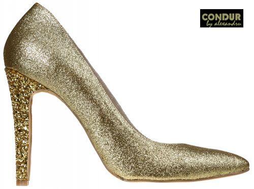 CONDUR by alexandru - Pantofi stiletto lucrati manual, pentru un plus de comoditate, confort si stabilitate