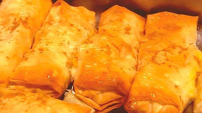 Galaktoboureko recipe : SBS Food