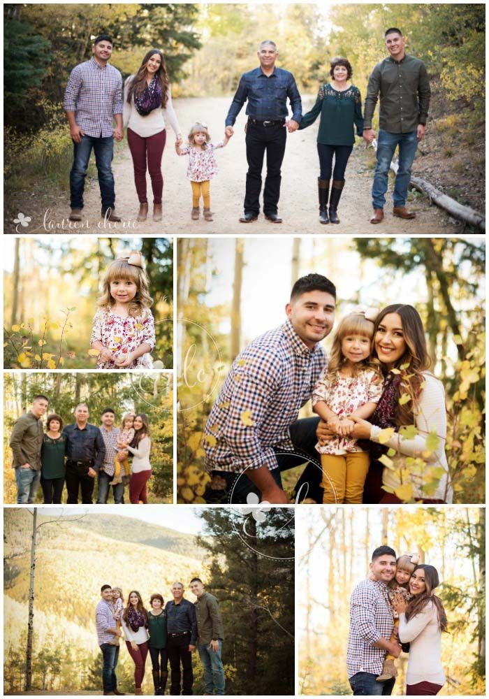 Lauren cherie photography family photography outdoor family photography complimenting colors family of