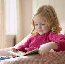 6) Picture resembles you as a child.......I LEARNED TO READ EARLY AND HAVE ALWAYS LOVED TO READ...