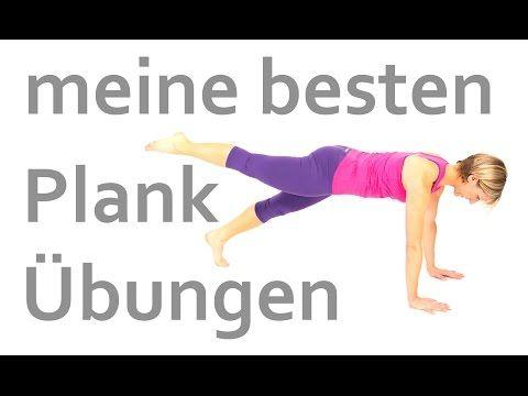 20 Plank Variationen – YouTube – Übungen