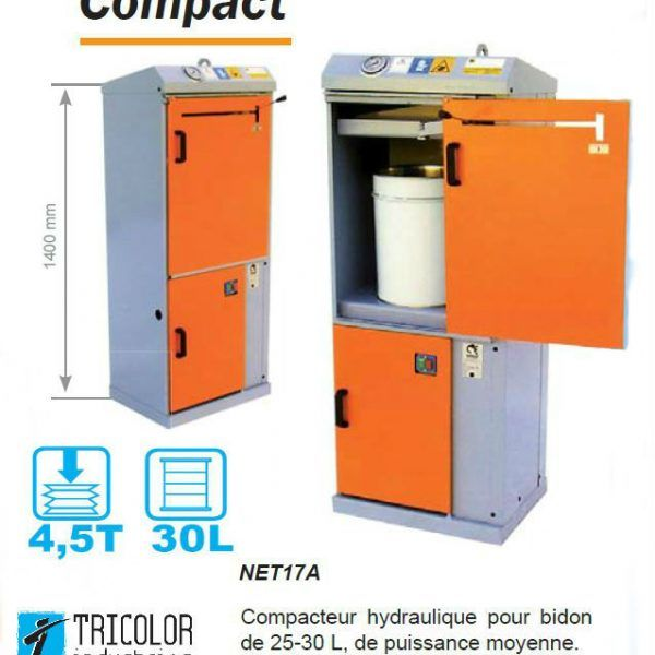 compacteur-bidon-hydraulique-NET17A