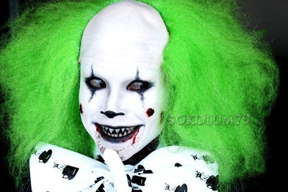 Scary Clown Halloween Makeup Halloween Makeup Ideas for Women, Men and Kids
