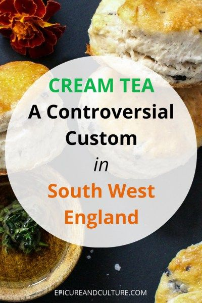 Things to do in England / Afternoon Tea Tradition / Cream Tea