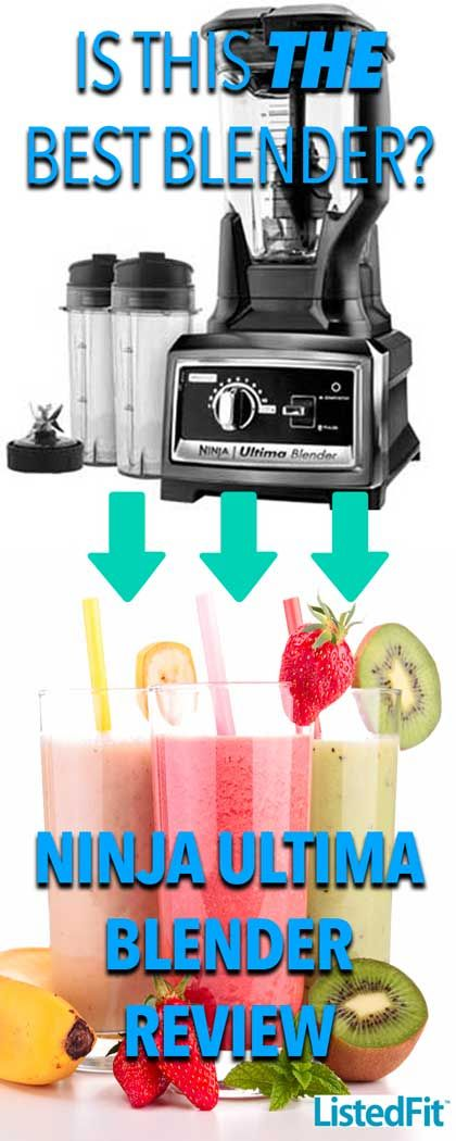Ninja Ultima Blender - Stronger than a Nutribullet 900w and better than a Blendtec - See for yourself   #nutrition #fitness #fitfam #smoothie #recipe #blog