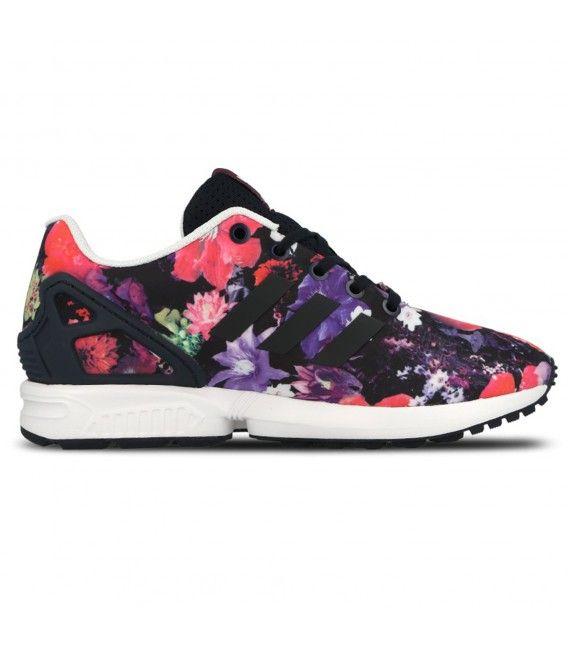 ZAPATILLAS ADIDAS ZX FLUX | http://chemasport.es/adidas-zx-flux-floral.html