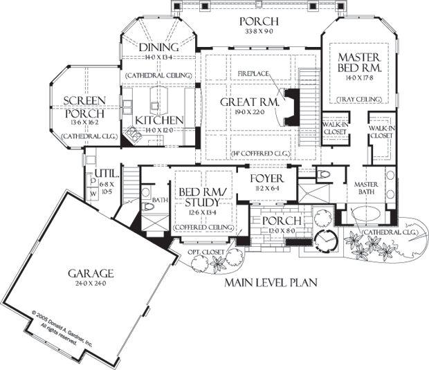 113 best house plans images on pinterest dream house plans Hgtv Lake House Plans first floor plan of the laurelwood house plan number 5024 hgtv lake house plans