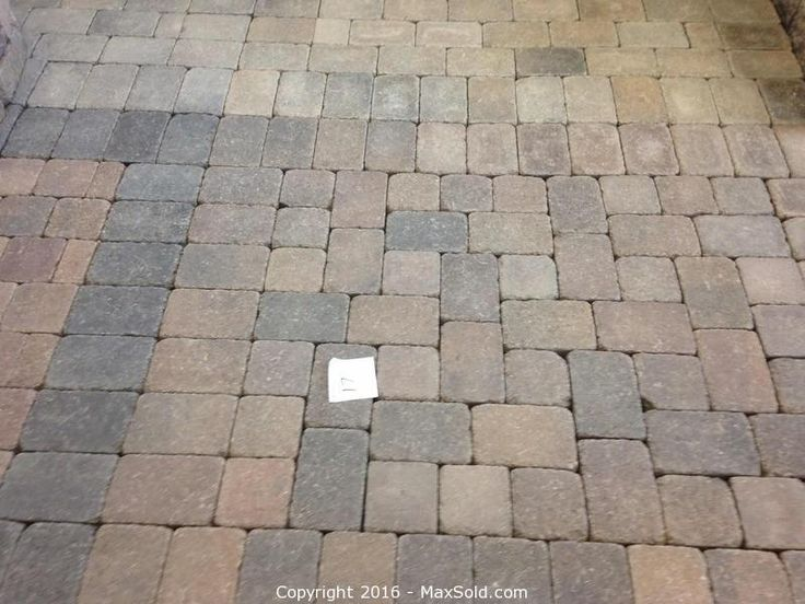 Pavers Sold on MaxSold for $360