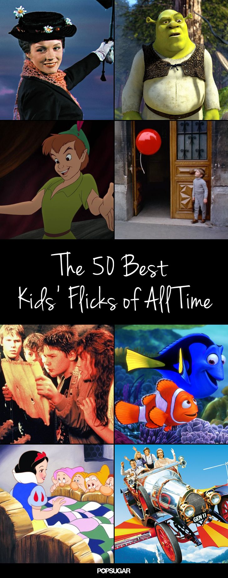 Pass The Popcorn 50 Greatest Kids Movies Of All Time