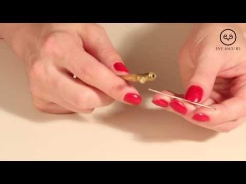 """Eve Anders - урок 1 """"Запяливание шелковой органзы в круглые пяльцы"""" - YouTube"""