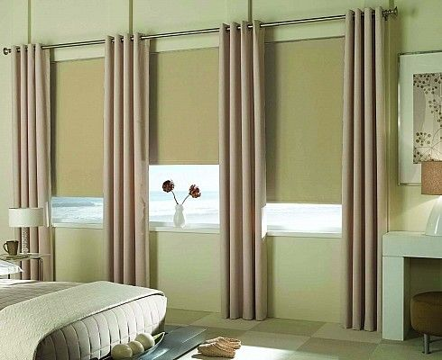 Reminiscent Room Darkening Roller Shades